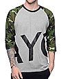 Asphalt Yacht Club Shear Raglan Camo T-Shirt
