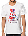 Asphalt Yacht Club Tie Dye Fill White T-Shirt
