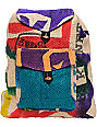 Baja Bags Hand Made Burlap Jute Backpack