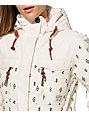 Billabong Callahan White Print 10K Snowboard Jacket
