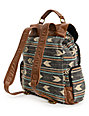 Billabong Campfire Dayz Black Stripe Backpack