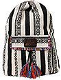 Billabong Caravan Black Stripe Backpack