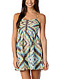 Billabong Davenport Pastel Tribal Woven Dress