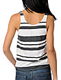 Billabong Dearly Charcoal Loose Fit Crop Tank Top