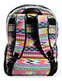 Billabong Fashion Masters Multicolor Tribal Canvas Backpack