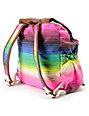 Billabong For Keeps Striped Rucksack Backpack