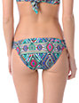 Billabong Native Dream Reina Turquoise Tab Side Bikini Bottom
