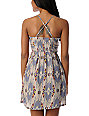 Billabong Odom Silver Printed Woven Dress