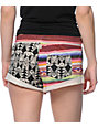Billabong Shortie Tribal Print French Terry Shorts
