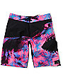 Billabong Sweet Tooth Black & Pink 20 Board Shorts