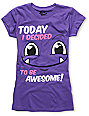 Bitter Sweet Decided To Be Awesome Purple T-Shirt