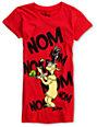 Bitter Sweet Dr. Seuss Nom Nom Nom Red T-Shirt