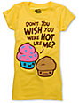 Bitter Sweet Hot Cake Yellow Scratch N Sniff T-Shirt