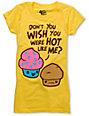Bitter Sweet Hot Cake Yellow Scratch N Sniff T-Shirt