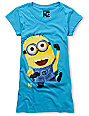 Bitter Sweet Just Dance Despicable Me Turquoise T-Shirt