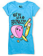 Bitter Sweet Pencil Bizznazz Turquoise T-Shirt