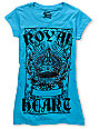 Bitter Sweet Royal Heart Turquoise T-Shirt