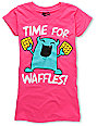Bitter Sweet Waffle Time Pink T-Shirt