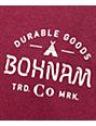 Bohnam Peyote Burgundy T-Shirt