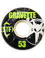 Bones STF Gravette Rocker 53mm Skateboard Wheels
