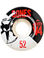 Bones STF Standard 52mm Skateboard Wheels