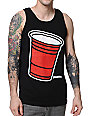 Booger Kids Party Cup Black Tank Top