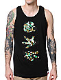 Booger Kids Rock Papercut Camo Black Tank Top
