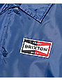 Brixton Ramsey Navy Coach Jacket