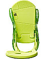 Burton Custom ReFlex Lime Snowboard Bindings