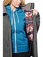 Burton Eden Charcoal Quilted 10K Snowboard Jacket