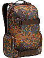Burton Emphasis Fleck Camo Print Backpack