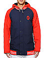 Burton Haze Red 10K Varsity Snowboard Jacket