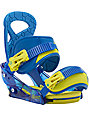 Burton Mission Smalls ReFlex Boys Snowboard Bindings