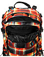 Burton Rider's Pack Majestic Black Plaid Snowboard Backpack
