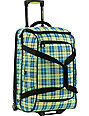 Burton Wheelie Cargo Gypsy Plaid Roller Bag
