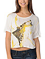 CDC Apparel Dreaming Wolf Cream Top