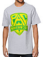 Cake Face OR Pac NW Crest Grey T-Shirt