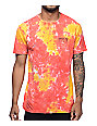 Captain Fin Co Spring Break Red Tie Dye T-Shirt