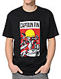 Captain Fin Surf Donkey Black T-Shirt