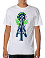 Casual Industrees Alpha White T-Shirt