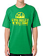 Casual Industrees If You Build It Green T-Shirt