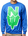 Casual Industrees N.Dub Blue Crew Neck Sweatshirt