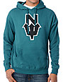 Casual Industrees NDub Turquoise Pullover Hoodie