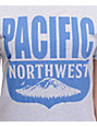 Casual Industrees PNW Shield Heather Grey T-Shirt