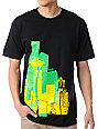Casual Industrees Raw City Black T-Shirt