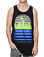 Casual Industrees Seattle Skyline Hawks Black Tank Top
