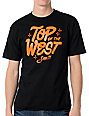 Casual Industrees Top Of The West Black T-Shirt