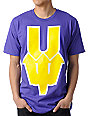 Casual Industrees U Dub Purple & Gold T-Shirt