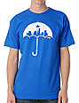 Casual Industrees Umbrella Blue T-Shirt