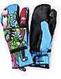 Celtek x Santa Cruz Trippin Slasher Snowboard Mittens